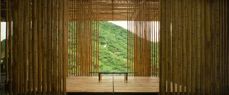 Great bamboo wall