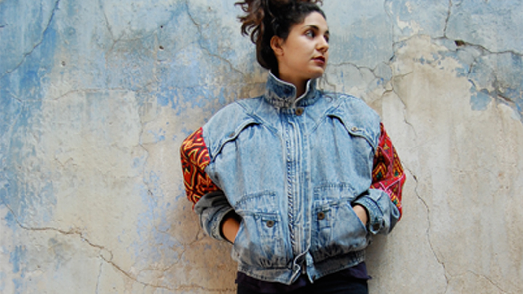Sara Kiani upcycled jacket