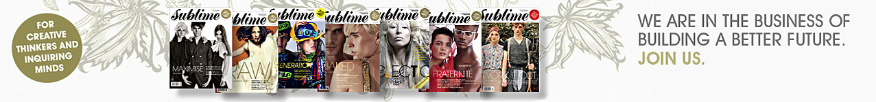 Sublime sustainable living Eco green lifestyle Magazine