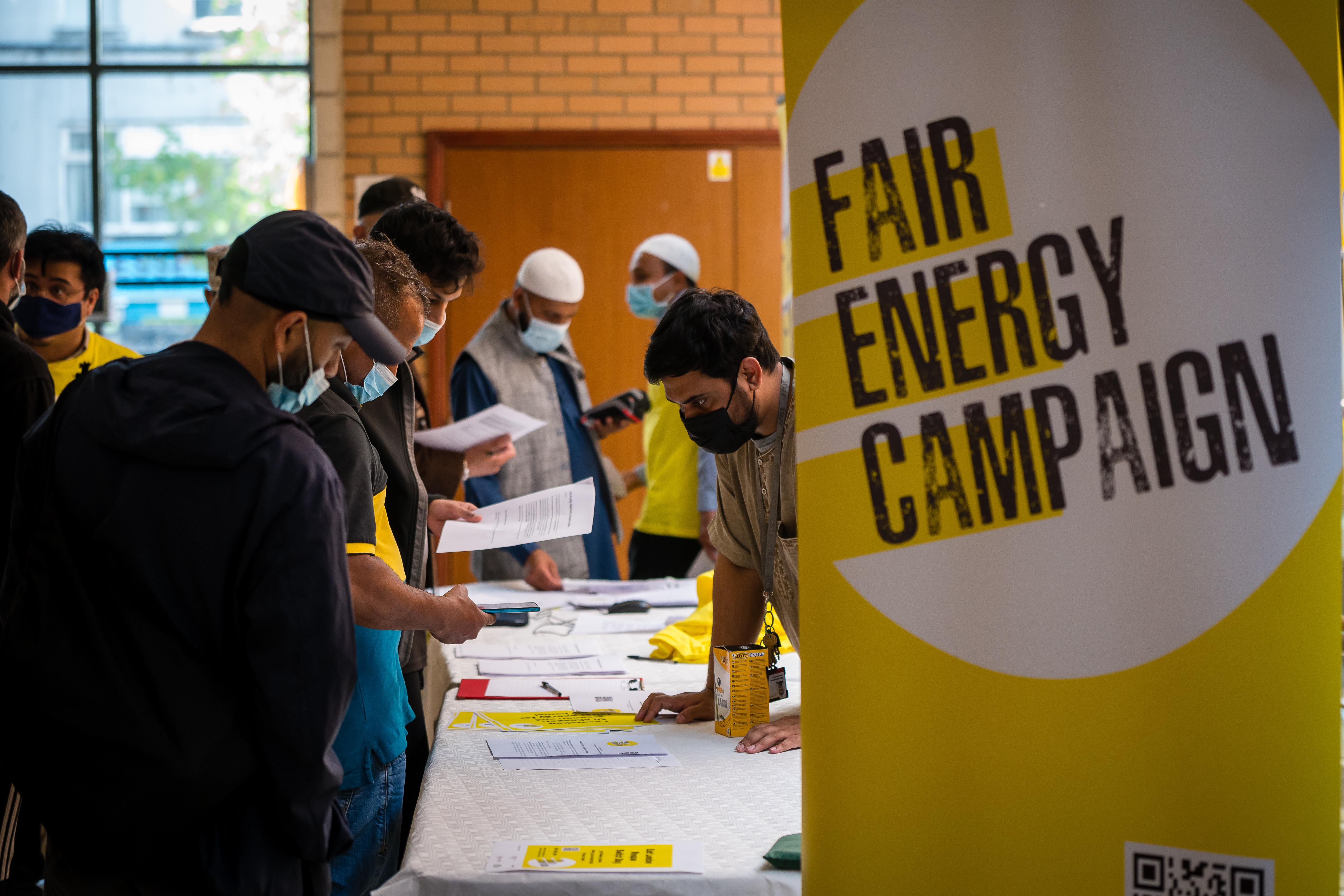 Fair Energy Campaign Launches in East London