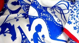 Rob Ryan's 'Small Girl' Silk Scarf